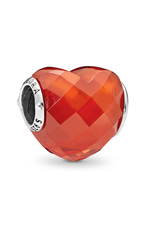 Pandora Shape of Love Charm, Orange Cubic Zirconia 796563OCZ product image