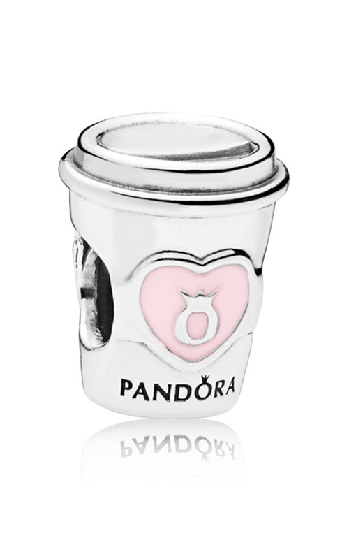 Pandora Drink To Go Charm, Pink Enamel 797185EN160 product image