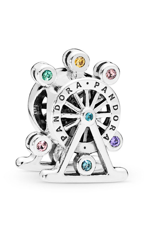 PANDORA Ferris Wheel Charm, Multi-Colored Crystal 797199NLCMX product image