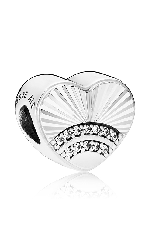Pandora Fan of Love Charm, Clear CZ 797288CZ product image