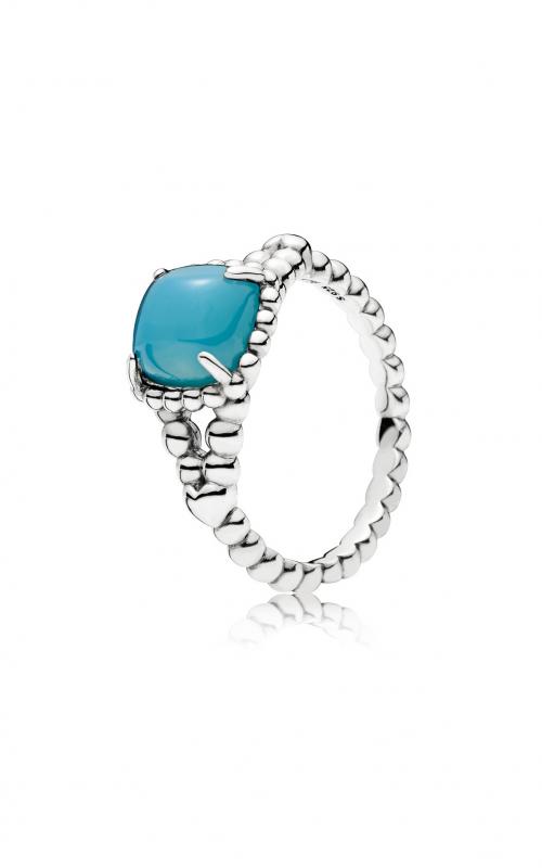 PANDORA Vibrant Spirit Ring, Scuba Blue Crystal 197188NSC-60 product image