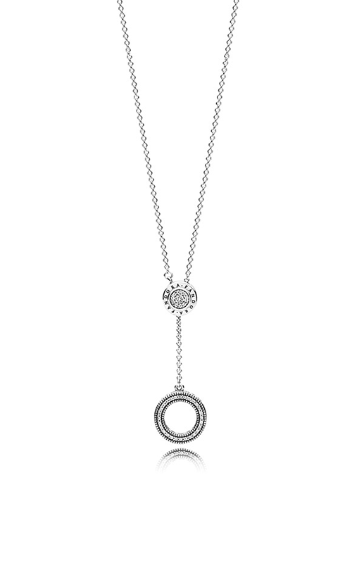 PANDORA Signature Necklace Clear CZ 397445CZ-70 product image
