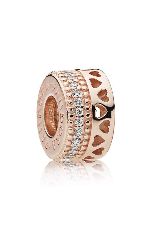 Hearts of Pandora Charm Pandora Rose™ & Clear CZ 787415CZ product image
