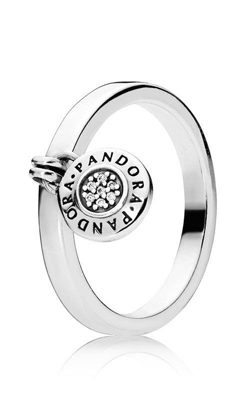 PANDORA Signature Ring Clear CZ 197400CZ-58 product image