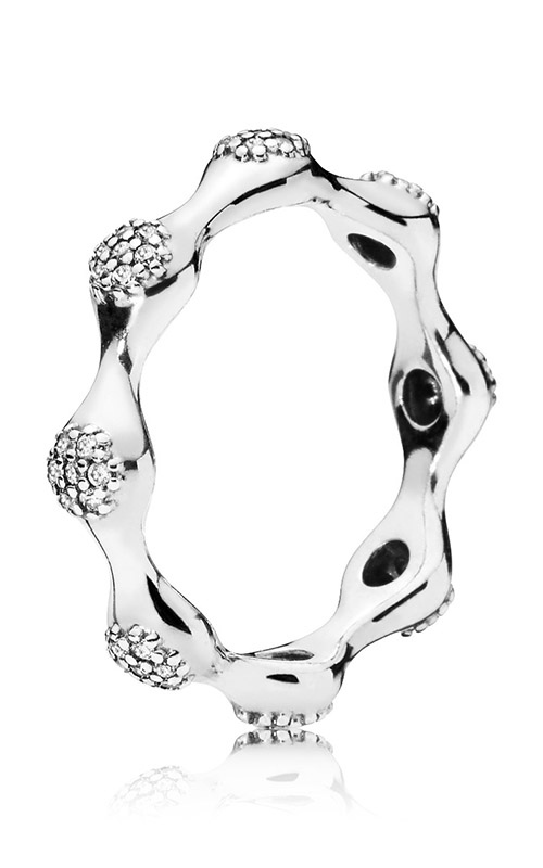 Modern LovePods™ Ring Clear CZ 197295CZ-52 product image