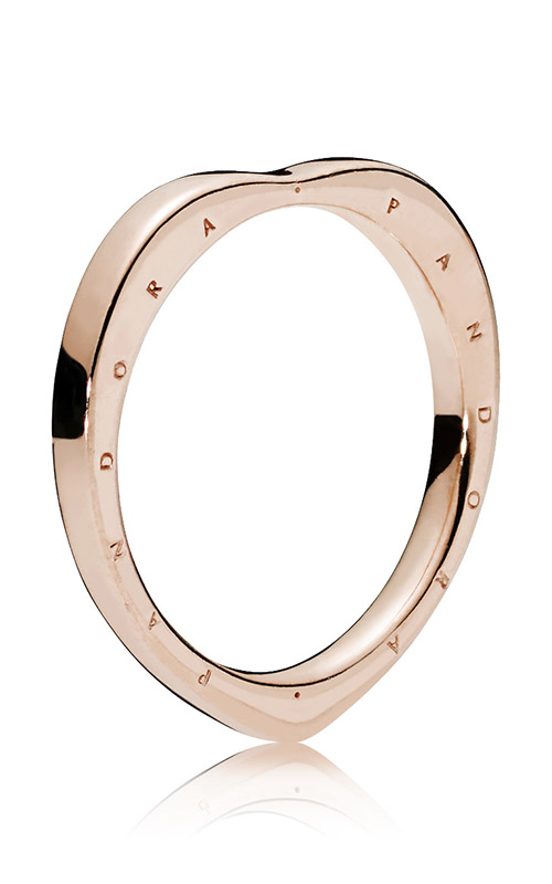 PANDORA Signature Arcs of Love Ring PANDORA Rose™ 187379-56 product image