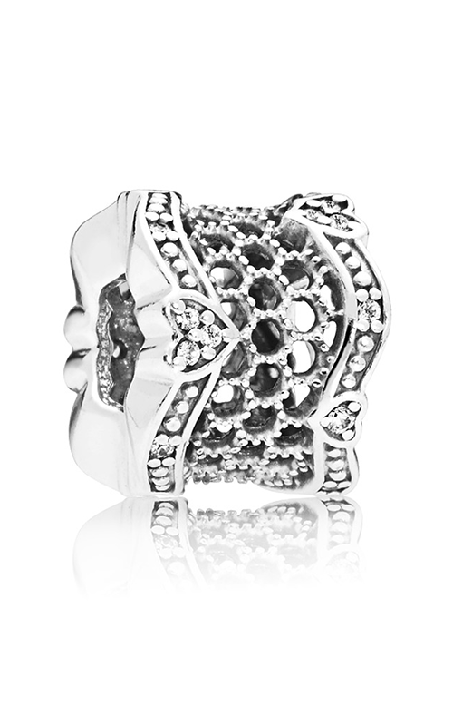 PANDORA Lace of Love Clear CZ Spacer 797653CZ product image