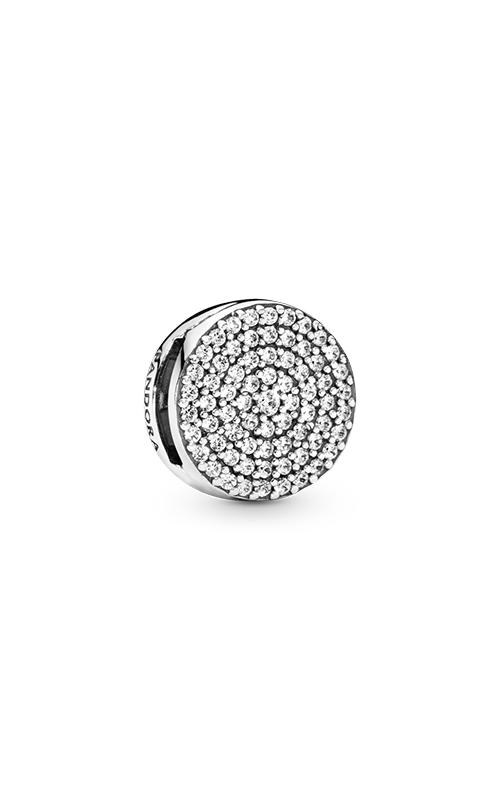 Pandora Reflexions™ Dazzling Elegance Clear CZ Clip Charm 797583CZ product image