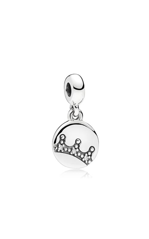 PANDORA Dazzling Crown Clear CZ Dangle Charm 797624CZ product image