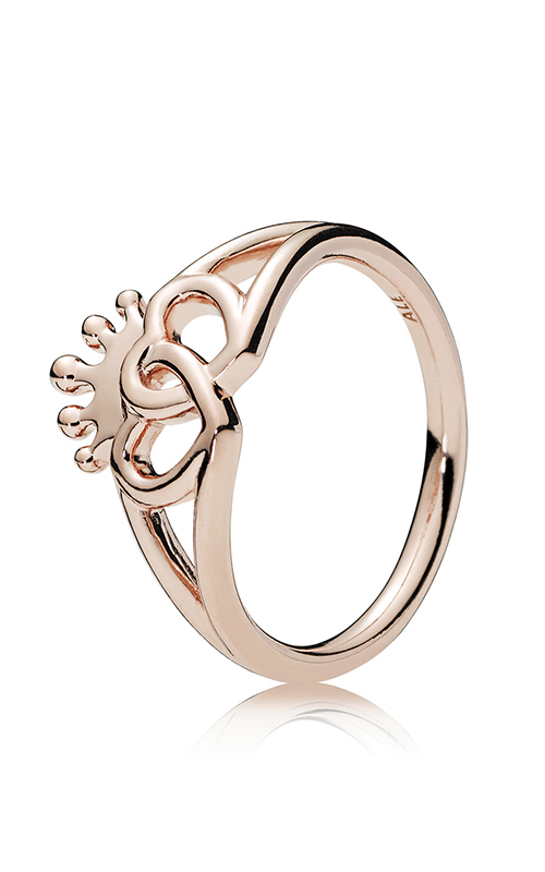 PANDORA Rose™ United Regal Hearts Fashion Ring 187685-54 product image