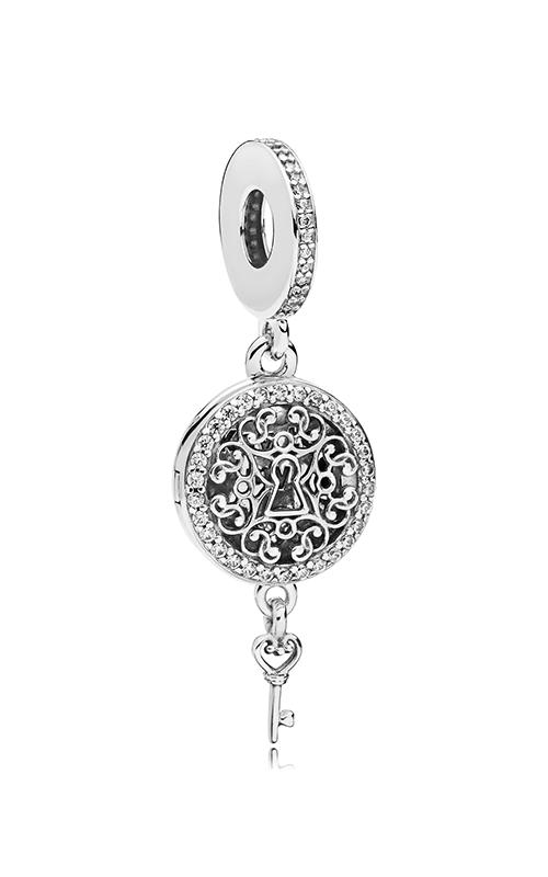 Pandora Regal Love Key Clear CZ Dangle Charm 797660CZ product image