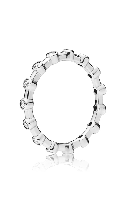 PANDORA Dazzling Dots Clear CZ Fashion Ring 197718CZ-52 product image