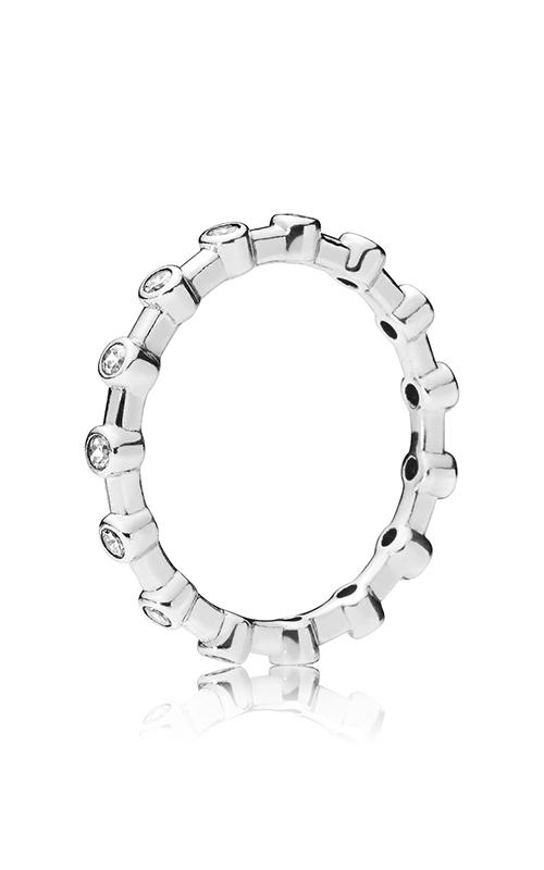 PANDORA Dazzling Dots Clear CZ Fashion Ring 197718CZ-54 product image