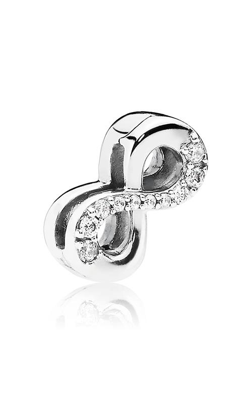 Pandora Reflexions™ Sparkling Infinity Clear CZ Clip Charm 797580CZ product image