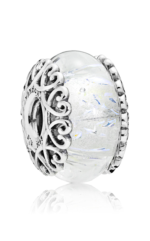 Pandora Iridescent White Glass Charm 797617 product image