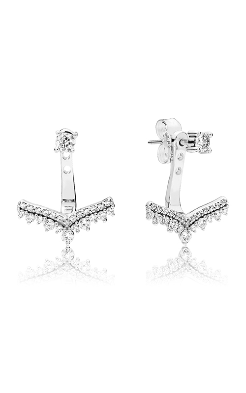Pandora Princess Wish Clear CZ Earrings 297739CZ product image