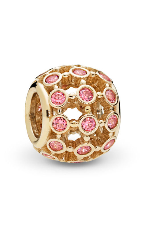 Pandora In the Spotlight Openwork Fancy Pink CZ Charm 750825CZS product image