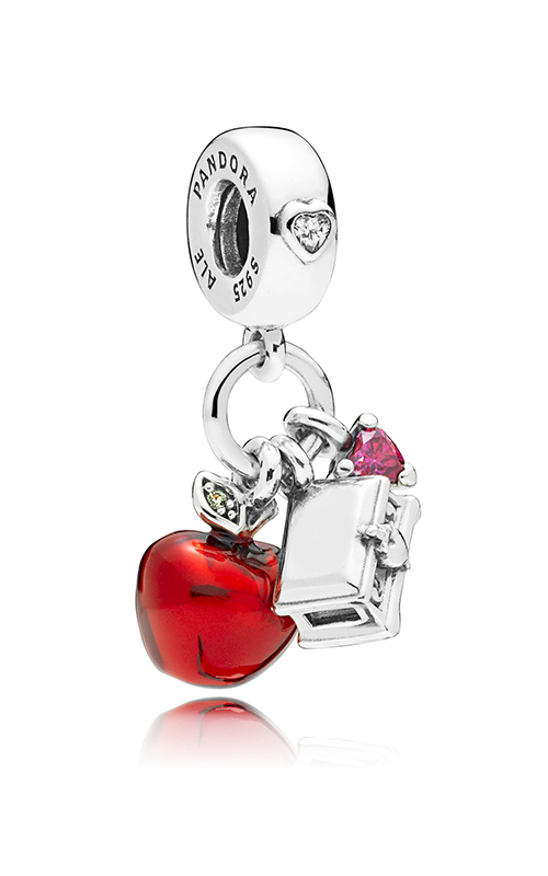 PANDORA Disney Snow White's Apple & Heart Dangle Charm 797486CZRMX product image