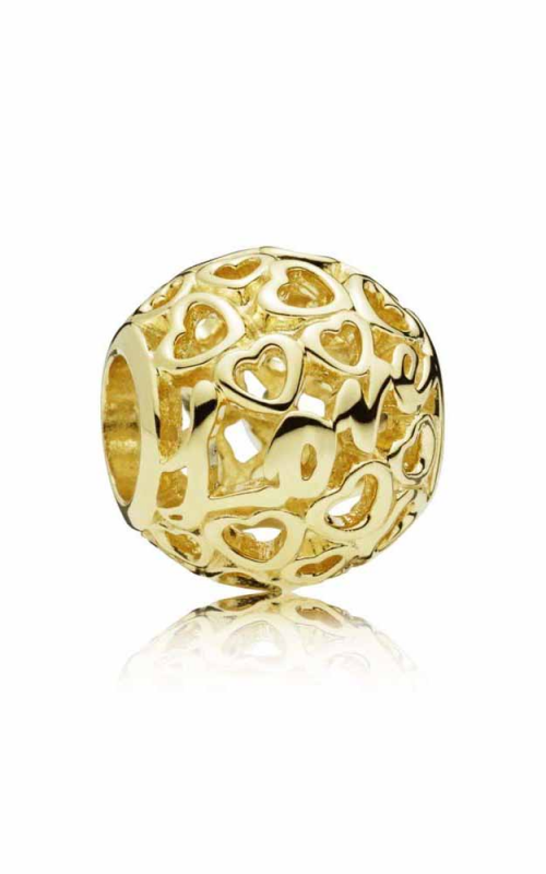 Pandora Glowing with Love Charm 14K Gold 757539 product image