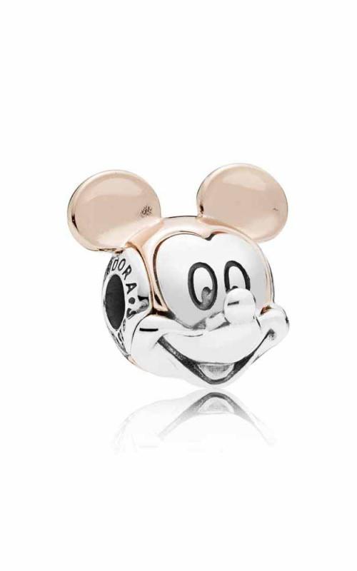 067c205ea Disney Two-tone Mickey Portrait Charm PANDORA Rose™ 787503 product image