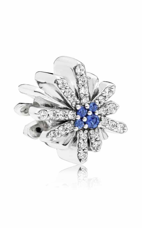 Pandora Dazzling Fireworks Charm Clear CZ & Blue Crystal 797518NCB product image