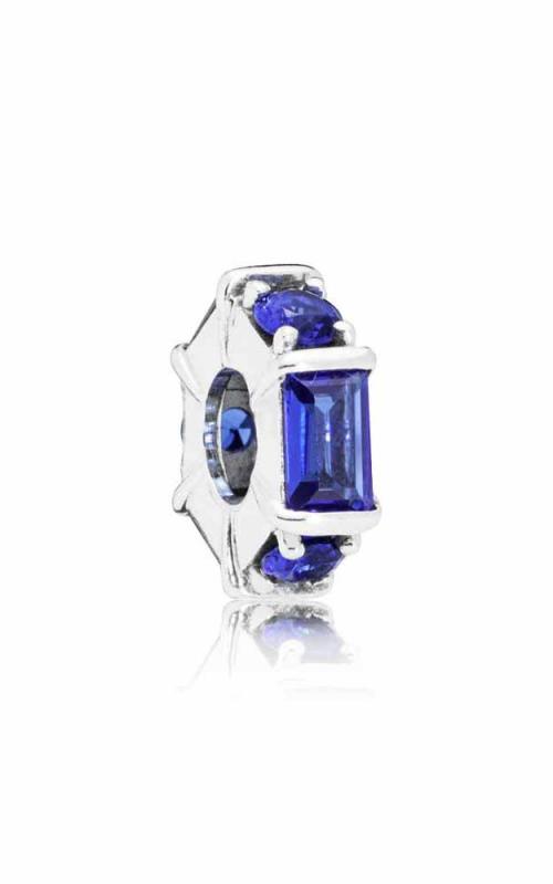 PANDORA Ice Sculpture Spacer Blue Crystal 797529NSBL product image