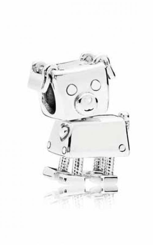 PANDORA Bobby Bot Charm White Enamel 797551EN12 product image