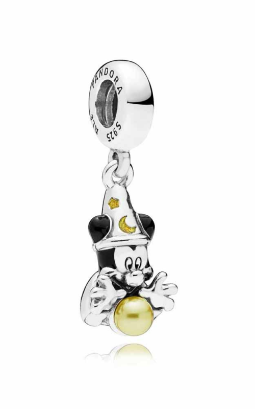 PANDORA Disney Sorcerer Mickey Dangle Charm 797493ENMX product image