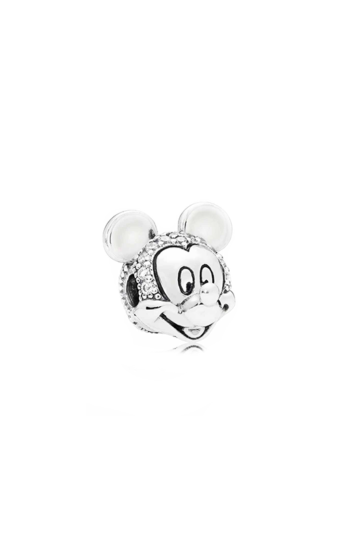 Pandora Disney Shimmering Mickey Portrait Clip Clear CZ 797495CZ product image