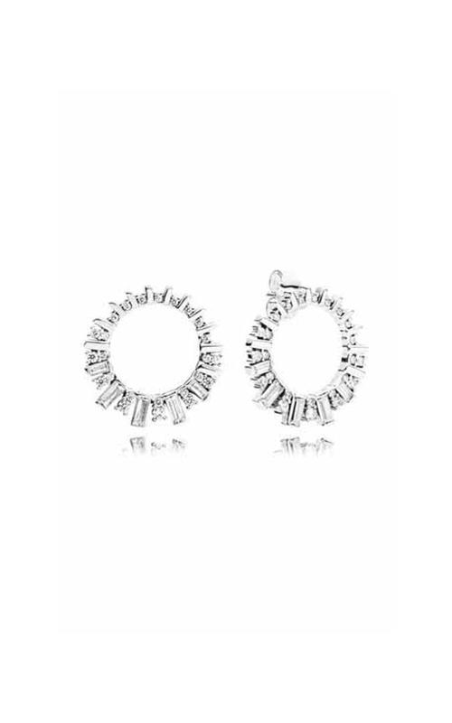 PANDORA Glacial Beauty Drop Earrings Clear CZ 297545CZ product image