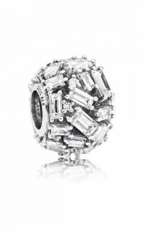 Pandora Chiselled Elegance Charm Clear CZ 797746CZ product image