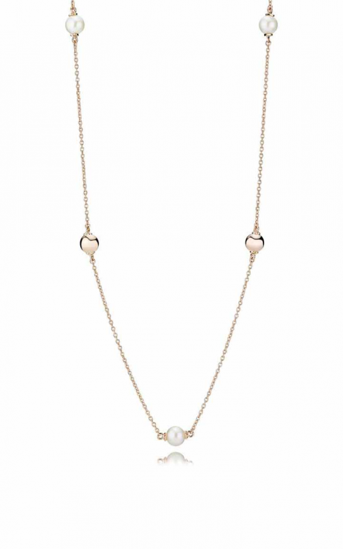 PANDORA Rose™ Contemporary Pearls Necklace Freshwater Cultured Pearl 387550P-80 product image