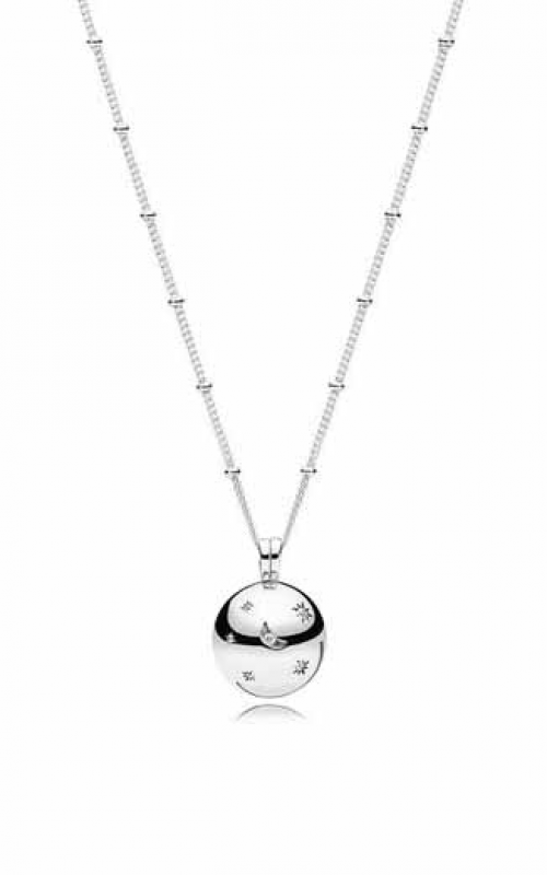 2f1f88fa8 PANDORA Moon and Stars Necklace Clear CZ 397537CZ-60 product image