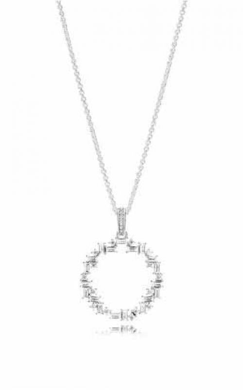 PANDORA Shards of Sparkle Pendant Clear CZ 397546CZ-45 product image