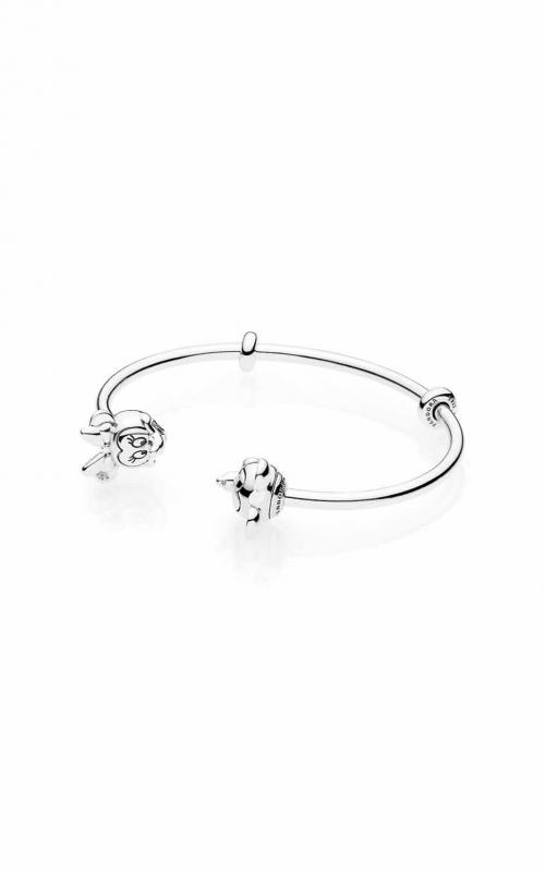 PANDORA Disney Mickey & Minnie Open Bangle Bracelet 597494-3 product image