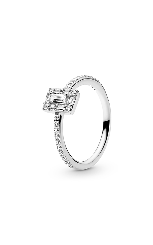 PANDORA Luminous Ice Ring Clear CZ 197541CZ-54 product image
