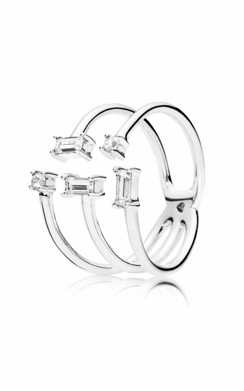PANDORA Shards of Sparkle Clear CZ Ring 197527CZ-54 product image