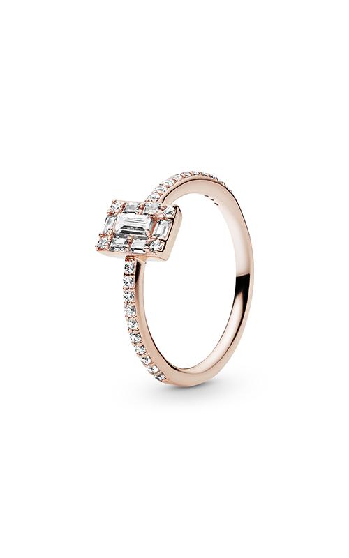 Luminous Ice Ring PANDORA Rose™ & Clear CZ 187541CZ-54 product image