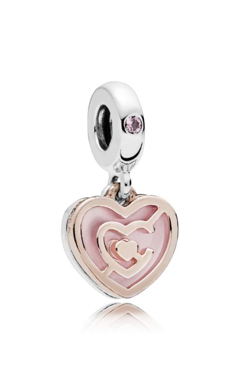 PANDORA Rose™ Path to Love Charm Pink Crystal & Enamel 787801NBP product image