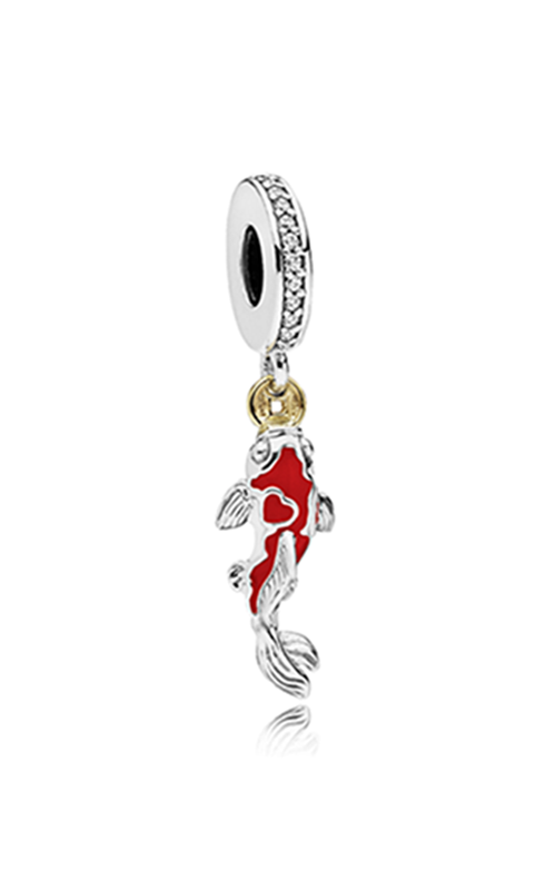 Pandora Good Fortune Carp Charm Clear CZ & Mixed Enamel 797829CZ product image