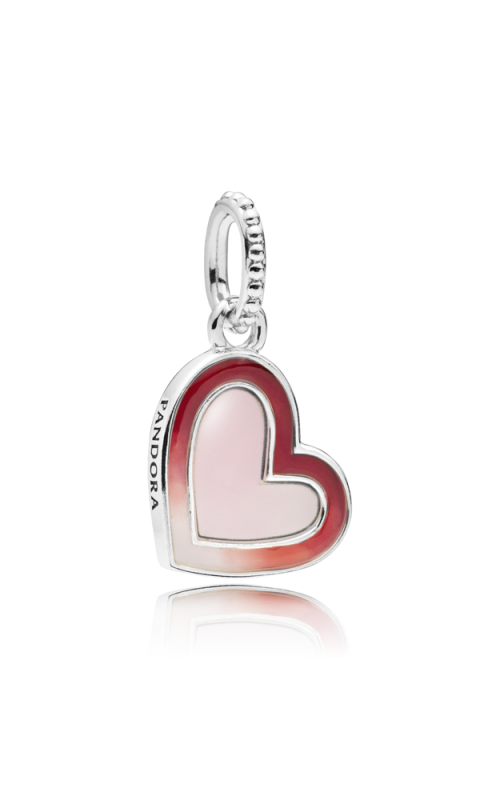Pandora Asymmetric Heart of Love Charm Mixed Enamel 797820ENMX product image