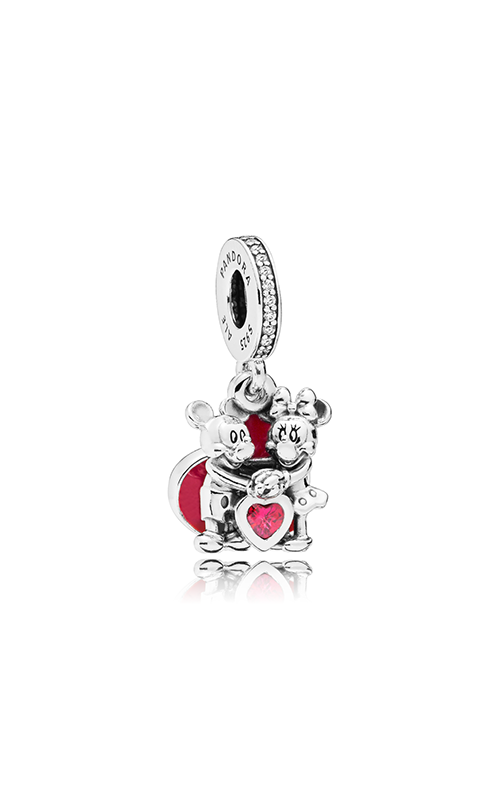 19d195ae7 PANDORA Disney Minnie & Mickey With Love Charm 797769CZR product image