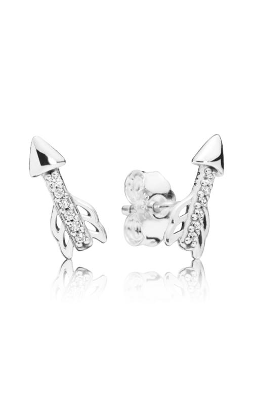 PANDORA Sparkling Arrows Earrings Clear CZ 297828CZ product image