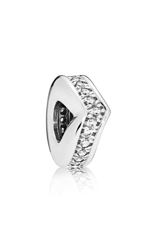 PANDORA Wish Shimmering Wish Spacer Clear CZ 797808CZ product image