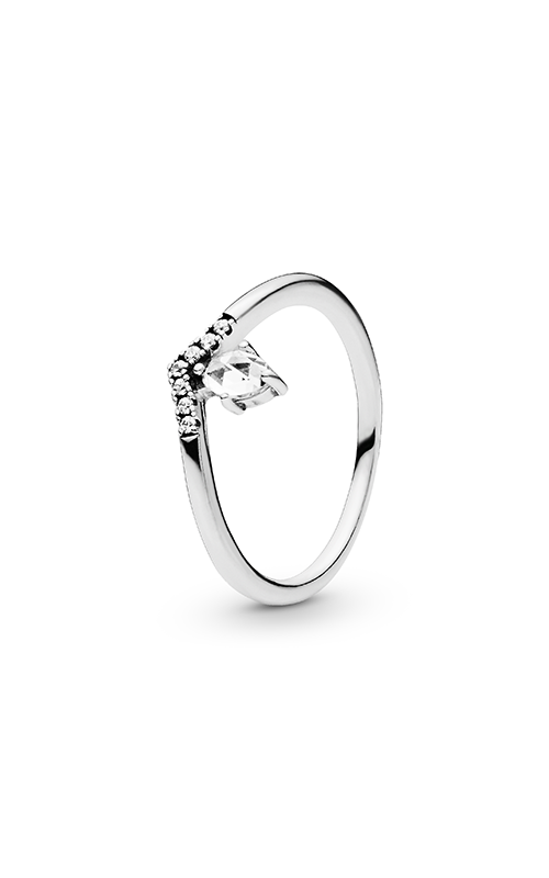 PANDORA Wish Classic Wish Ring Clear CZ 197790CZ-58 product image