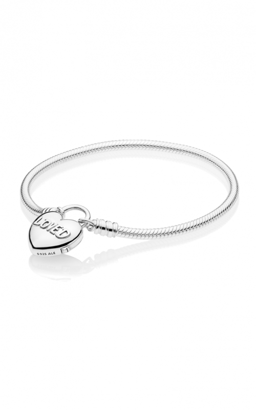 PANDORA You Are Loved Heart Padlock Bracelet 597806-18 product image