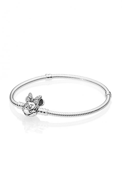 PANDORA Disney Shimmering Minnie Portrait Bracelet 597770CZ-18 product image