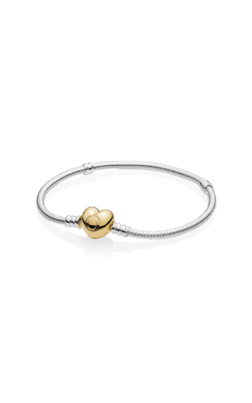 Sterling Silver with PANDORA Shine™ Heart Clasp 560719-21 product image