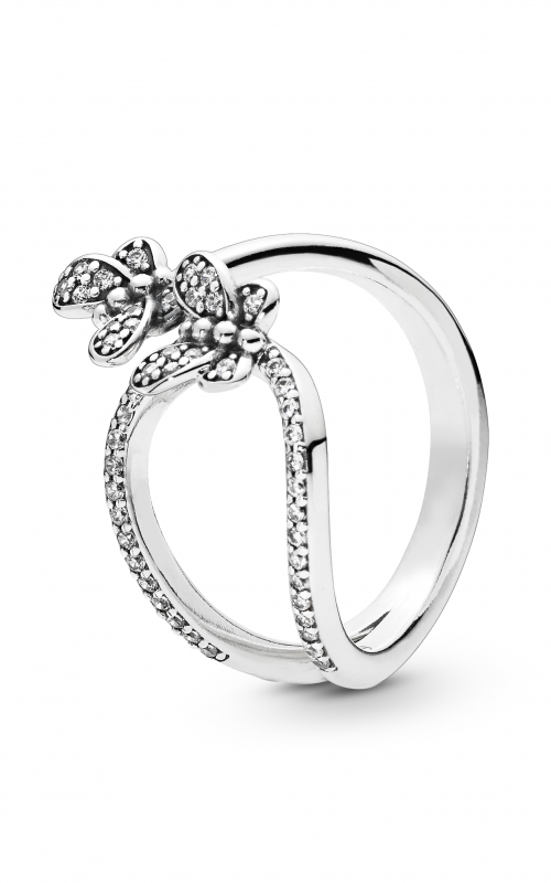 6bf9bd600 PANDORA Bedazzling Butterflies Ring Clear CZ 197920CZ-48 product image