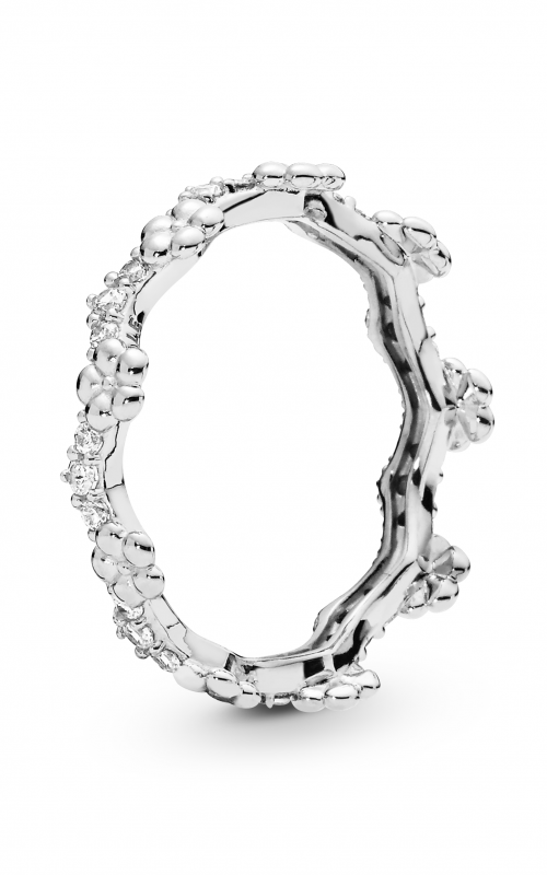 PANDORA Flower Crown Ring Clear CZ 197924CZ-52 product image